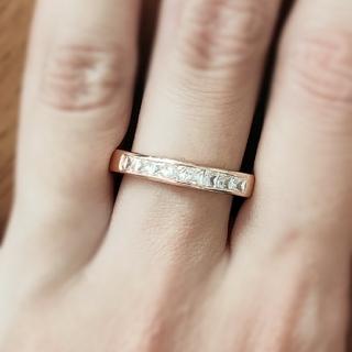 モアサナイトダイヤモンド*エタニティリング(リング(指輪))