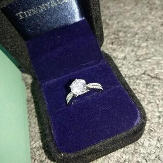 ティファニー(Tiffany & Co.)のTiffany &Co. 人気リング 指輪 レディース ダイヤモンド 超美品(リング(指輪))