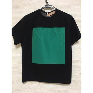 ヌメロヴェントゥーノ(N°21)のN°21 ボンディングカットソー(Tシャツ(半袖/袖なし))