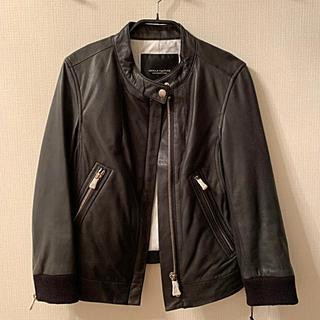 ダブルスタンダードクロージング(DOUBLE STANDARD CLOTHING)のダブルスタンダード 本革ライダースジャケット(ライダースジャケット)