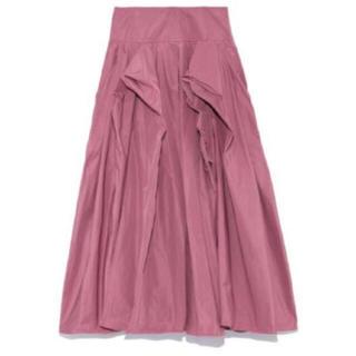 フレイアイディー(FRAY I.D)のタフタロングスカート(ロングスカート)