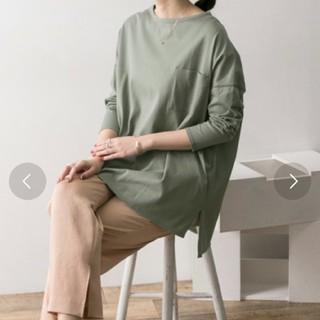 URBAN RESEARCH - URBAN RESEARCH ポケット付チュニックTシャツ グリーン