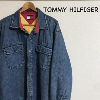 トミーヒルフィガー(TOMMY HILFIGER)のTOMMY HILFIGER デニムジャケット 90s 激レア(Gジャン/デニムジャケット)