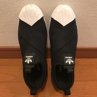 adidas - adidas アディダススーパースタースリッポン 24.5 ドゥエムズクラス