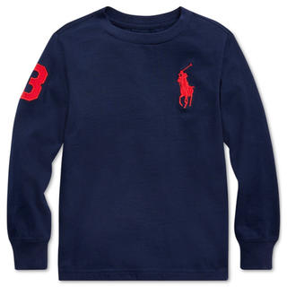 POLO RALPH LAUREN - ★BIG PONY ★ラルフローレンビッグポニー長袖TシャツM/150