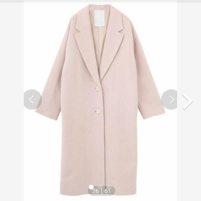 MERCURYDUO(マーキュリーデュオ)の専用 コート&ニットワンピース レディースのジャケット/アウター(チェスターコート)の商品写真