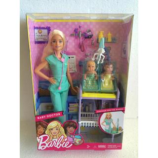 バービー(Barbie)のバービー フィギュア お医者さんごっこセット 小児科医 barbie ドクター(ぬいぐるみ/人形)