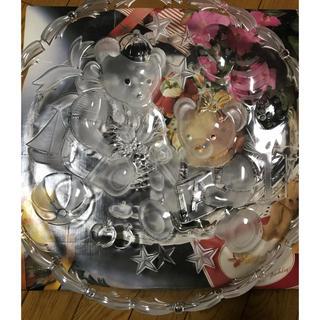 ミカサ(MIKASA)のミカサ新品未使用クリスタルパーティ皿(食器)