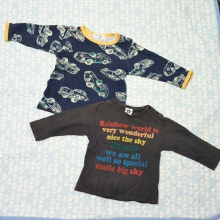 アンパサンド(ampersand)の80長袖Tシャツ☆2枚組(Tシャツ)