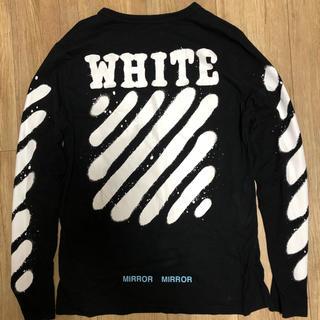 オフホワイト(OFF-WHITE)の「今週限定価格」off white spray ロンT(Tシャツ(長袖/七分))