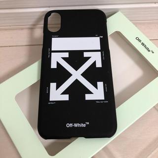 オフホワイト(OFF-WHITE)の【新品未使用】オフホワイト ARROW CARRYOV iPhone X ケース(iPhoneケース)