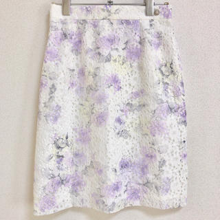 ミッシュマッシュ(MISCH MASCH)のMISCH MASCH レーススカート(ひざ丈スカート)