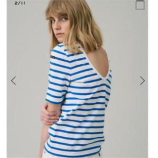 ルミノア(Le Minor)のルミノア ボーダーTシャツ(カットソー(半袖/袖なし))