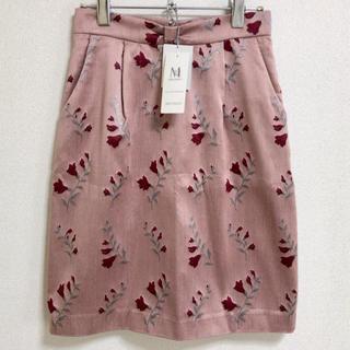 ミッシュマッシュ(MISCH MASCH)の【新品】MISCH MASCH  花柄スカート(ひざ丈スカート)