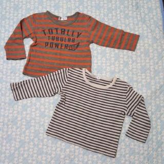 ムジルシリョウヒン(MUJI (無印良品))の80サイズ☆長袖2枚組(トレーナー)