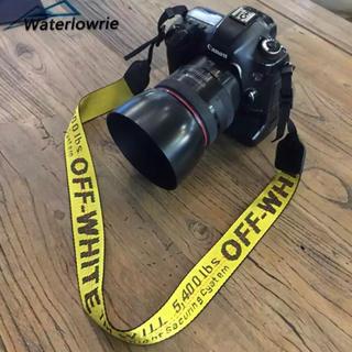 オフホワイト(OFF-WHITE)のカメラストラップ (ネックストラップ)