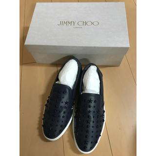 ジミーチュウ(JIMMY CHOO)のジミーチュウ 購入したて! 新品同様 スター 星 スリッポン(スリッポン/モカシン)