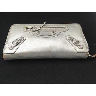 バレンシアガ(Balenciaga)のバレンシアガ シルバー 長財布(長財布)