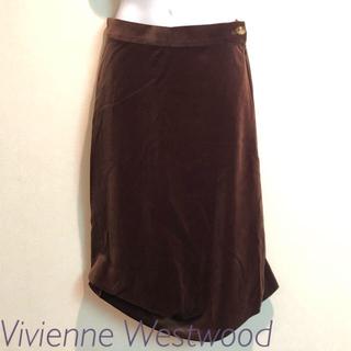 Vivienne Westwood - ヴィヴィアンウエストウッド 別珍ロングスカート
