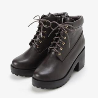 新品♡マジェスティックレゴン ブーツ  替紐付き❣️ブラウン M、Lサイズ