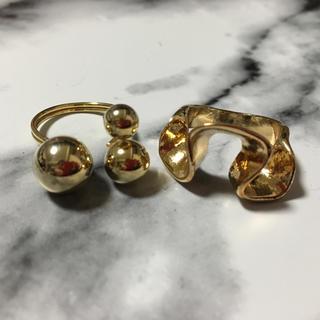 アメリヴィンテージ(Ameri VINTAGE)の変形デザインリング、指輪(リング(指輪))