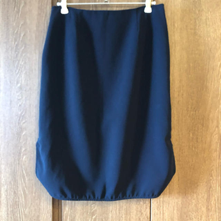 ドゥーズィエムクラス(DEUXIEME CLASSE)のドゥーズィエムクラス トリアセジョーゼットスカート(ひざ丈スカート)