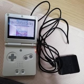 ゲームボーイアドバンス(ゲームボーイアドバンス)の【こいも様専用】ゲームボーイアドバンスSP ホワイト(携帯用ゲーム機本体)