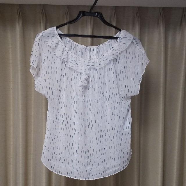 GAP(ギャップ)の半袖ブラウス レディースのトップス(シャツ/ブラウス(半袖/袖なし))の商品写真