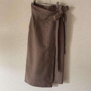 フレイアイディー(FRAY I.D)のFRAY I.D ラップスカート(ひざ丈スカート)