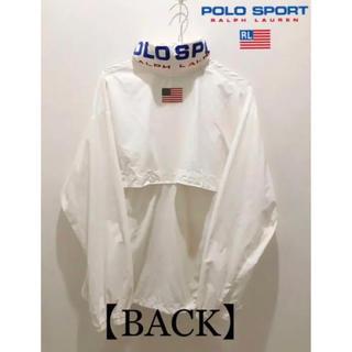 ポロラルフローレン(POLO RALPH LAUREN)の【POLO SPORT】ポロスポーツ ナイロンジャケット  ハーフジップ 90s(ナイロンジャケット)