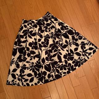 ミラオーウェン(Mila Owen)のミラオーウェン 花柄スカート(ひざ丈スカート)