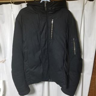 ステュディオス(STUDIOUS)のSTUDIOUS ウールダウンジャケット 黒 サイズ2(M相当)(ダウンジャケット)