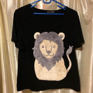 フラボア(FRAPBOIS)のフラボア ライオンTシャツ アニマル(Tシャツ(半袖/袖なし))