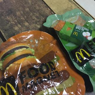 マクドナルド(マクドナルド)のマクドナルド フードマグネット 2個セット(ノベルティグッズ)
