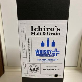 wanggang様用 イチローズモルトザ・ウイスキープラス5周年記念 59.0%(ウイスキー)