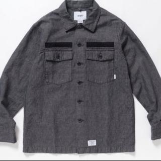 W)taps - wtaps buds chambray BLACK 01sサイズ