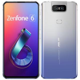 ASUS - ZenFone 6 128GB トワイライトシルバー(ASUS)