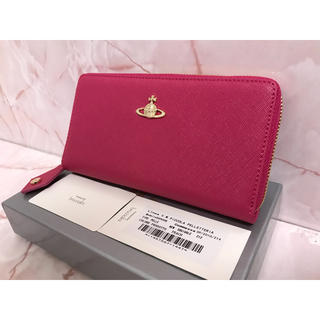 ヴィヴィアンウエストウッド(Vivienne Westwood)のピンク長財布❤️ヴィヴィアンウエストウッド❤️新品・未使用(財布)