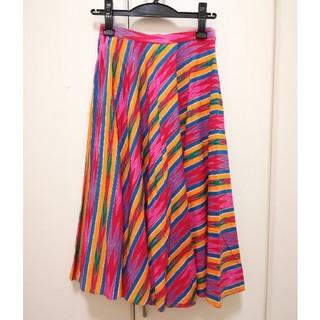 ハナエモリ(HANAE MORI)の古着 HANAE MORI サーキュラースカート(ひざ丈スカート)