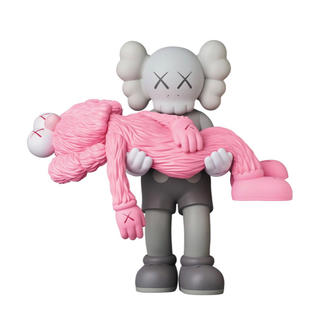MEDICOM TOY - KAWS GONE GREY PINK カウズ グレイ ピンク