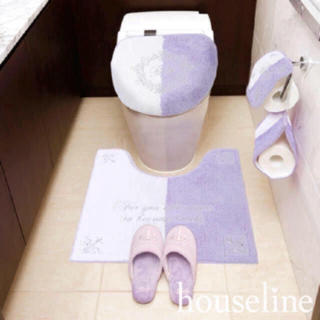 レディー(Rady)の新品♡Rady♡フレームバイカラートイレ3点セット♡(トイレマット)