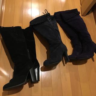 ランダ(RANDA)のニーハイブーツ おまとめ3足 Mサイズ(ブーツ)