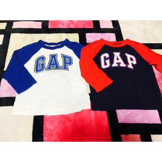 ギャップ(GAP)の80 GAP ロンT 2枚(Tシャツ)