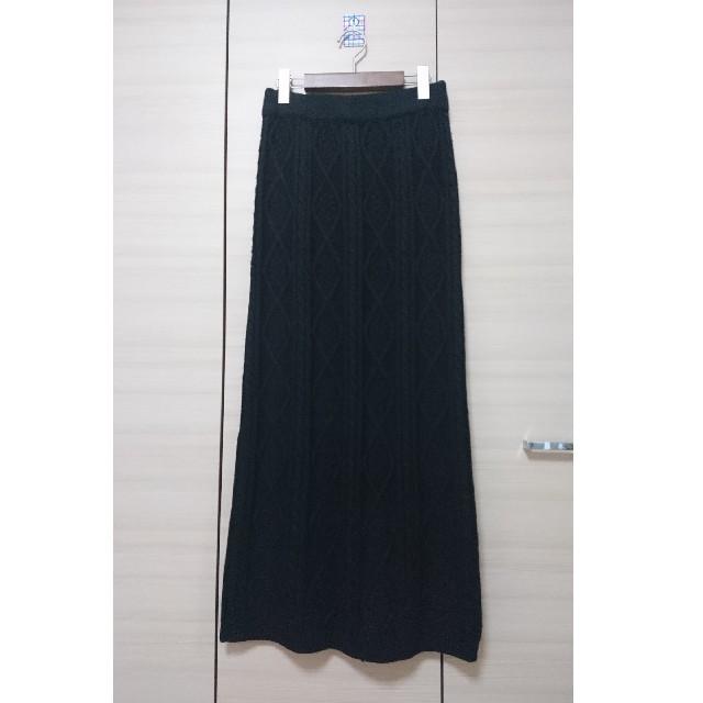 antiqua(アンティカ)の☆専用☆アンティカ・ニットロングスカート レディースのスカート(ロングスカート)の商品写真