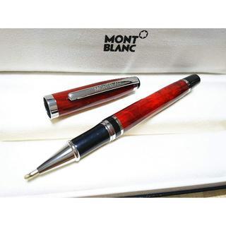 MONTBLANC - MONT BLANC キャップ式ボールペン 赤茶 ノベルティ