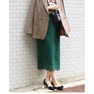 イエナ(IENA)の☆イエナ レース スカート  34(ロングスカート)