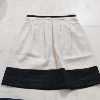 ドゥーズィエムクラス(DEUXIEME CLASSE)の【ドゥーズィエムクラス】L ホワイト スカート オフィスにも♪(ひざ丈スカート)