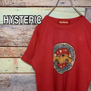 ヒステリック Fサイズ Tシャツ レッド 赤(Tシャツ/カットソー(半袖/袖なし))