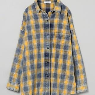 ジーナシス(JEANASIS)のネルシャツ(シャツ/ブラウス(長袖/七分))