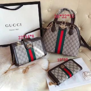Gucci - ハンドバッグ、ショルダーバッグ特別価格の3点セット
